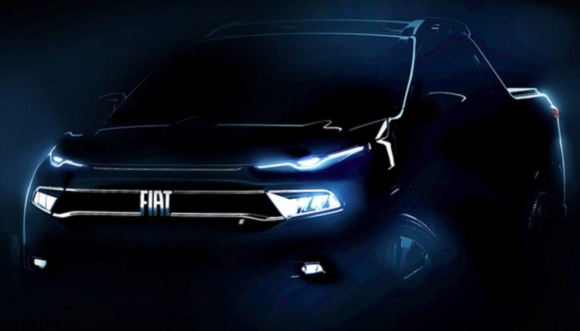 Fiat Toro surge em teaser oficial