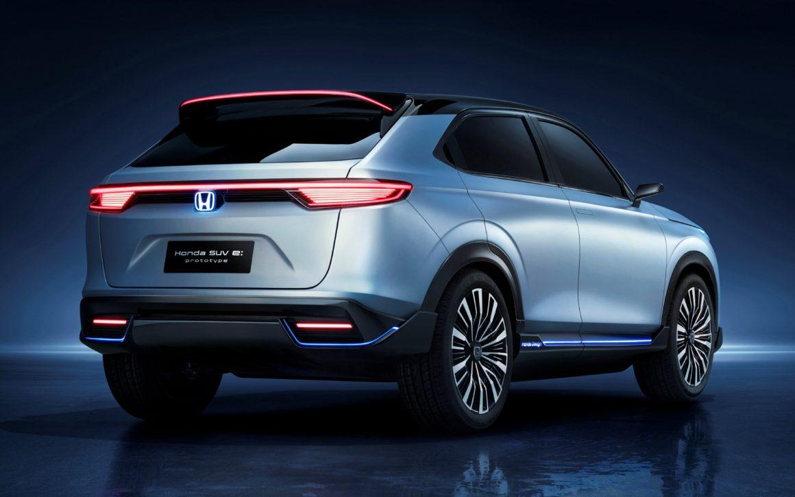 Honda SUV e:prototype HR-V elétrico