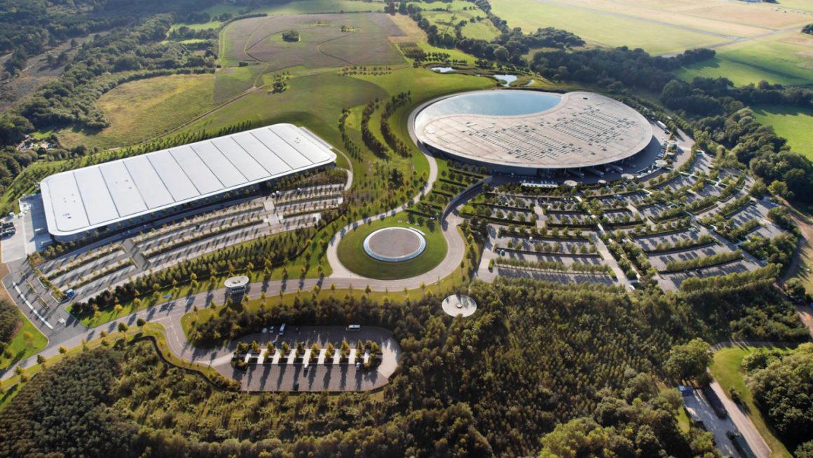 Planta da McLaren em Woking