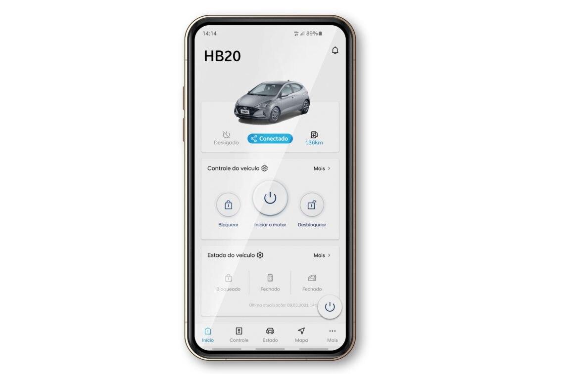 HB20 terá conectividade pela plataforma