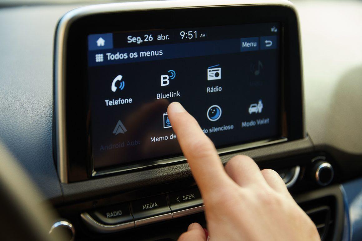 Hyundai HB20 terá conectividade pela plataforma