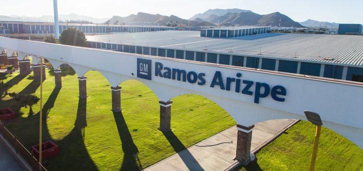 Fábrica mexicana de Ramos Arizpe da GM