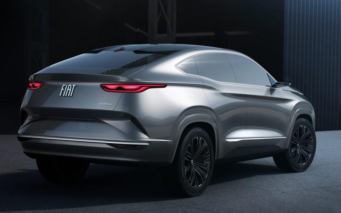 Conceito do Fiat Fastback inspirará visual do novo SUV cupê da marca
