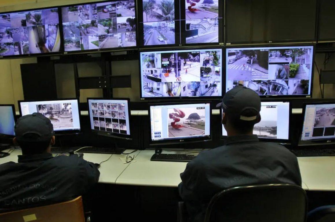 Santos (SP) tem monitoramento por câmeras com tecnologias OCR
