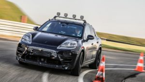 Porsche Macan elétrico