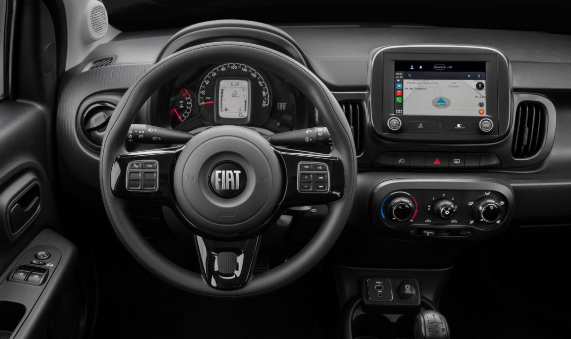 Fiat Mobi Trekking linha