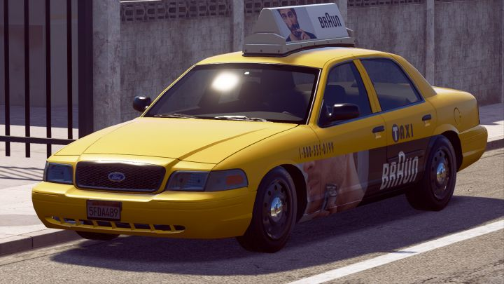 Ford Crown Victoria no Need for Speed