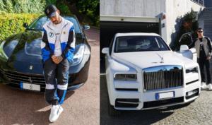 Neymar vs CR7: quem possui a garagem mais legal de supercarros?