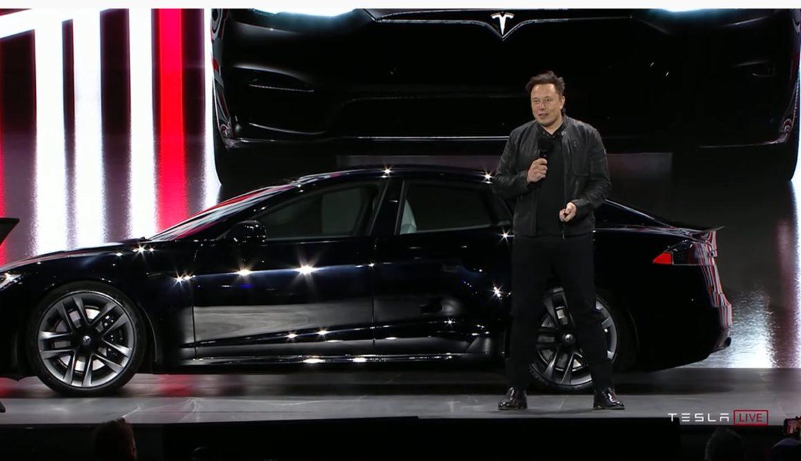 Apresentação do novo Tesla Model S