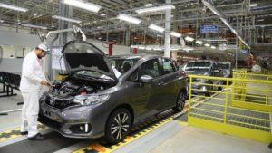 Fábrica da Honda em Itirapina