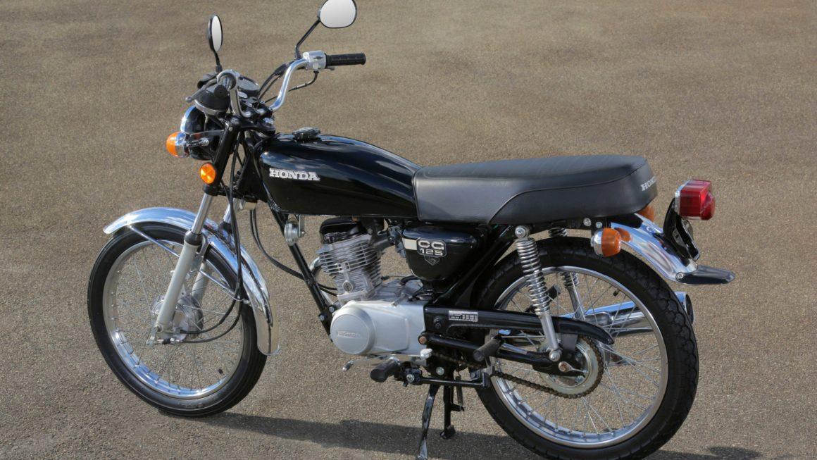 HONDA CG 125 ALCOOL 1981