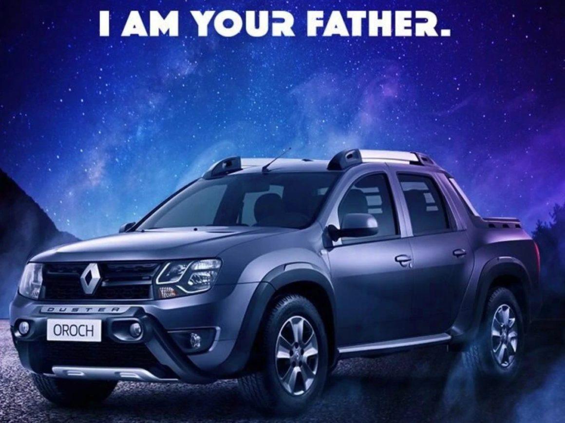 Renault Duster Oroch Star Wars