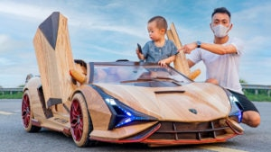 Lamborghini Sián de brinquedo