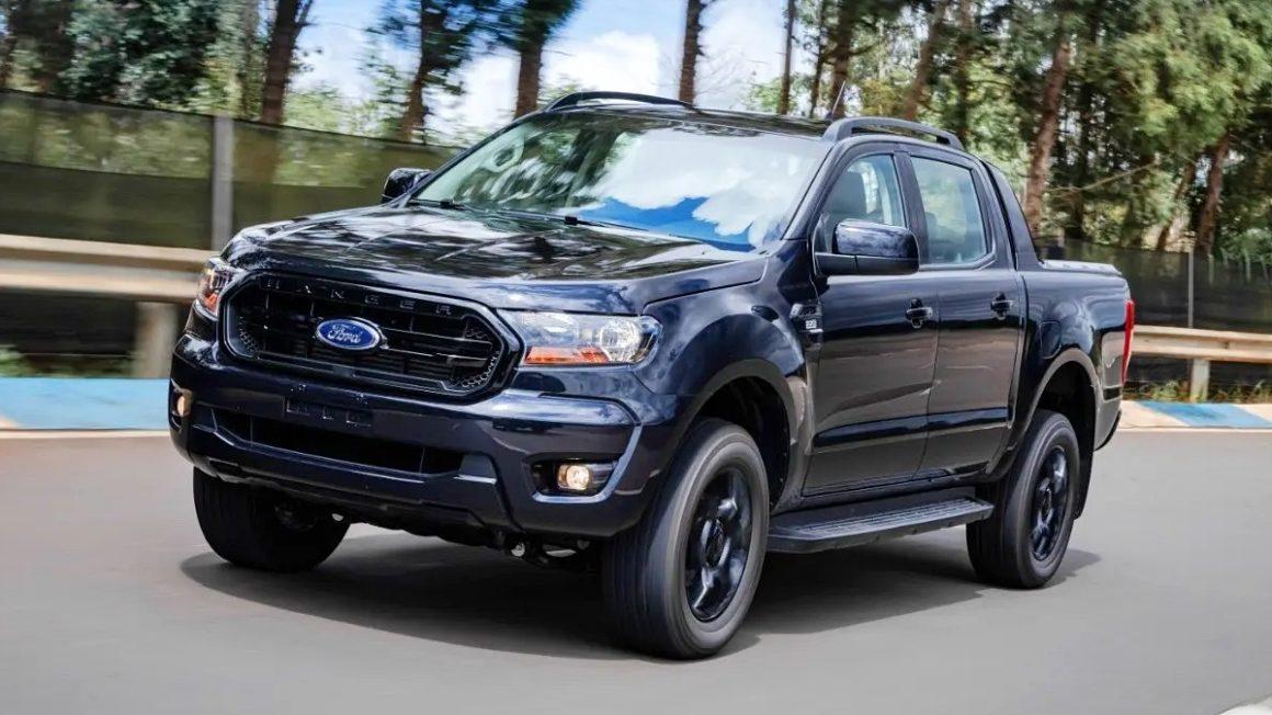 Ford Ranger Black 2022 união europeia