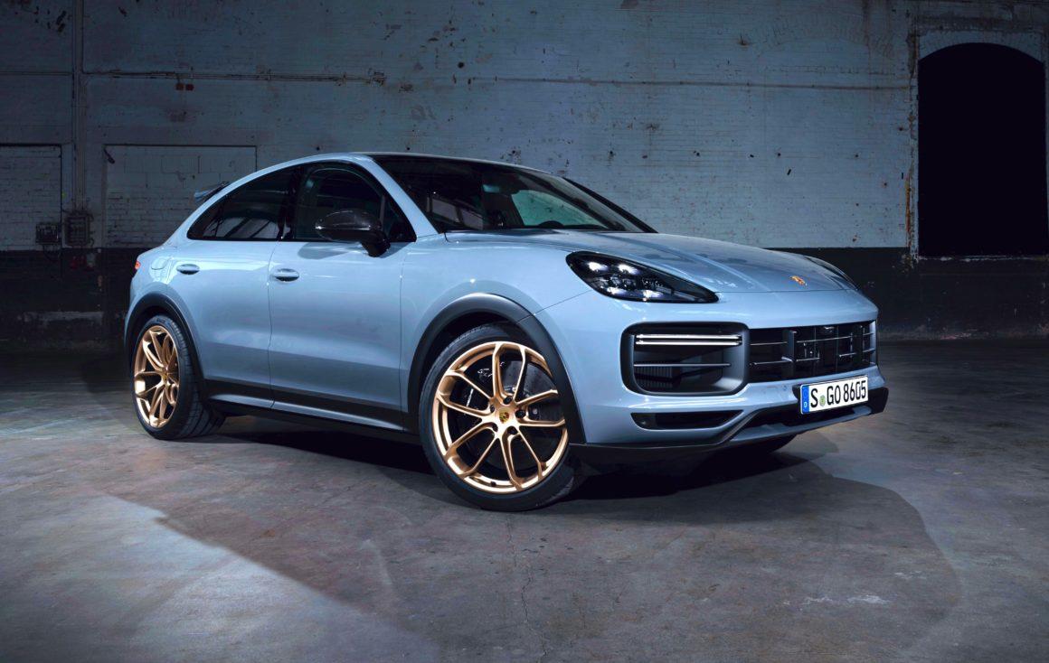 Porsche Cayenne Turbo GT R$ 1 milhão
