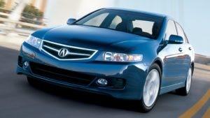 Acura TXS câmbio manual