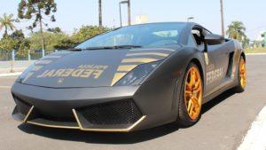 Lamborghini viatura polícia
