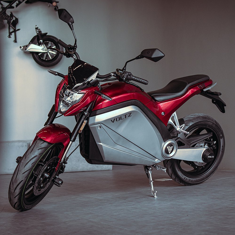 Voltz EVS motos elétricas