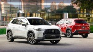 Carros por assinatura da Toyota