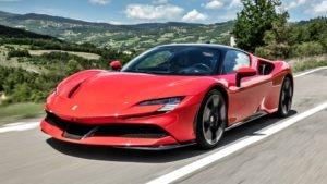 Ferrari híbrida