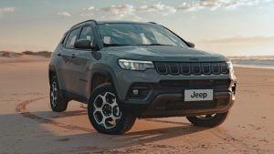 SUVs mais vendidos Jeep Compass