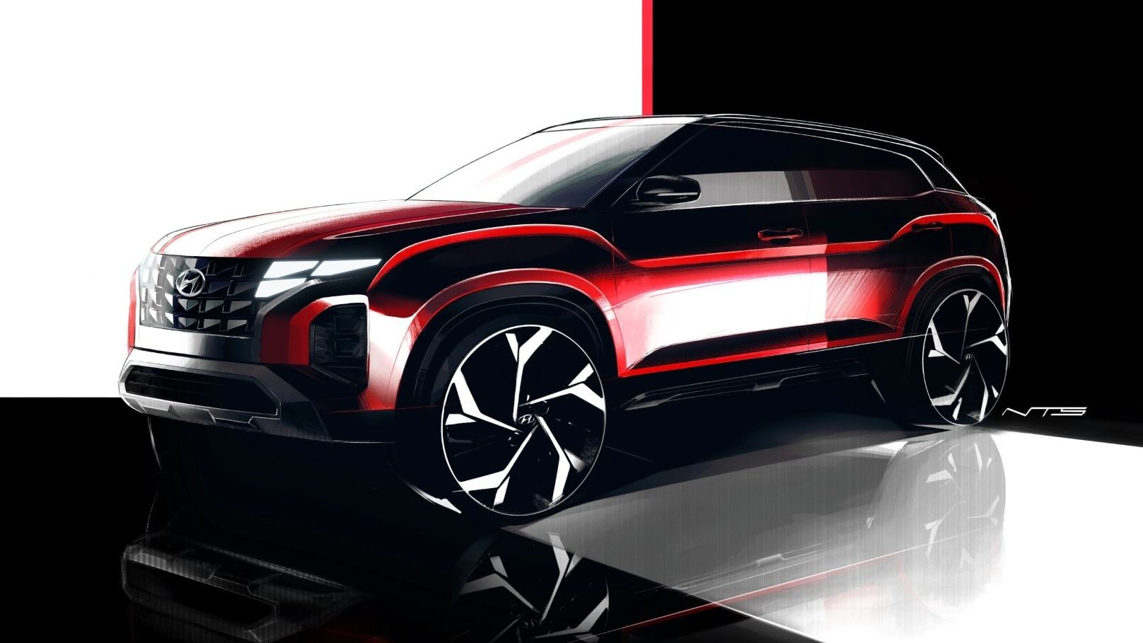 Novo Hyundai Creta vai mudar design e ganhar dianteira do Tucson
