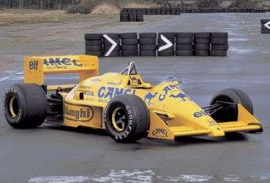 Lotus 99 de Senna em 1987
