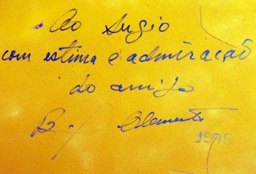 """""""Ao Sergio, com estima e admiração, do amigo Bird Clemente"""""""