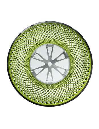 Produto sem ar mudará conceito de pneu