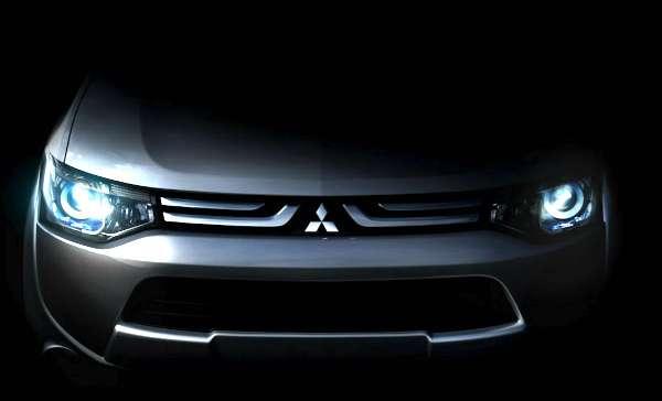 Mitsubishi libera teaser do Outlander