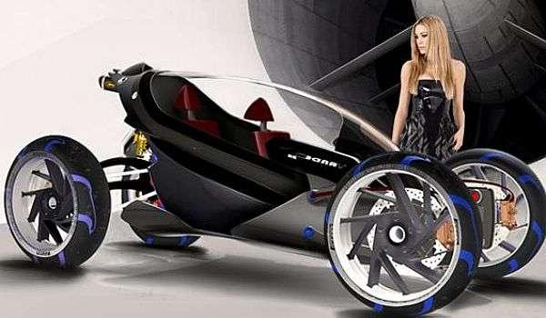 BMW Tandem: um misto de carro e moto