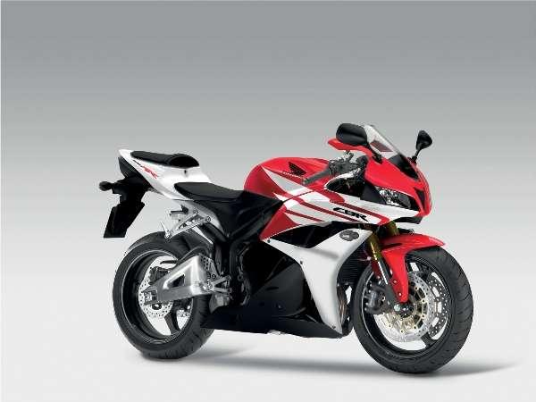 Honda CBR 600RR 2012 tem novas cores