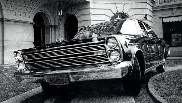 Luxo encarnado: 45 anos do Ford Galaxie
