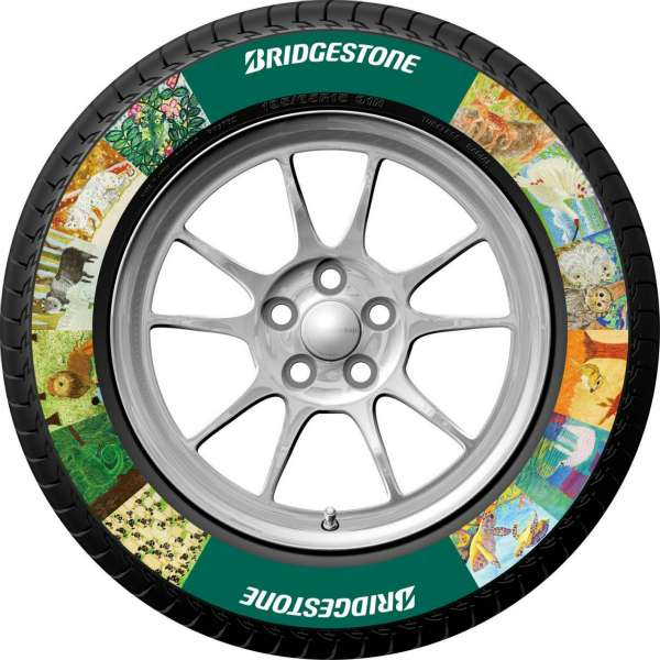Bridgestone lança pneu personalizável