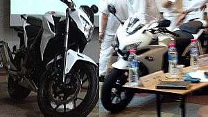 Honda CB 500 e CB 500R, na internet