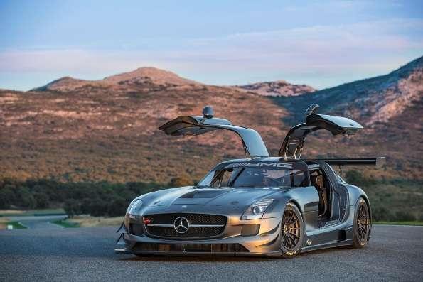 Mercedes Terá Série Especial Do SLS AMG GT3