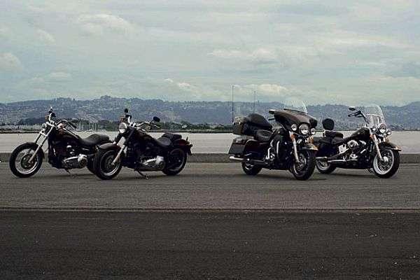 Harley-Davidson apresenta sua linha 2013