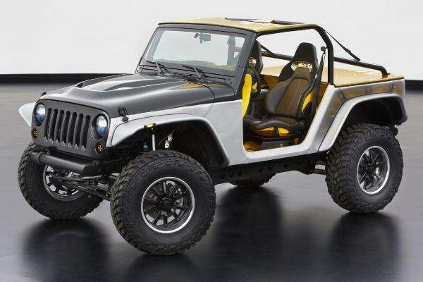 Jeep Apresenta Seis Conceitos Para O Moab Easter Safari
