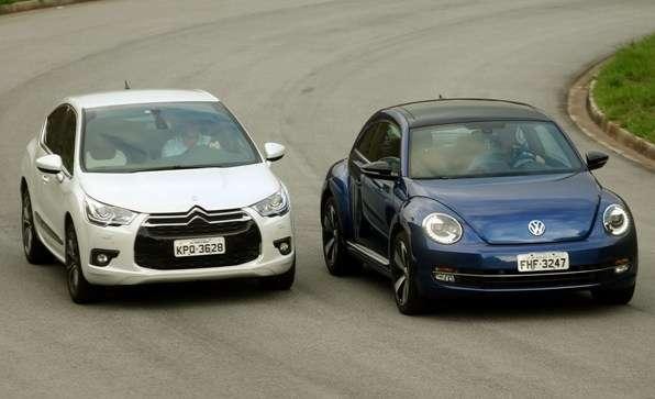 Comparativo: Citroën DS4 x Volkswagen Fusca