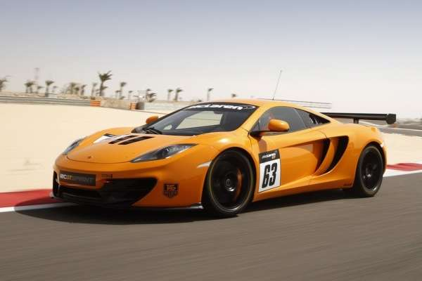 McLaren 12C GT é exclusivo para as pistas